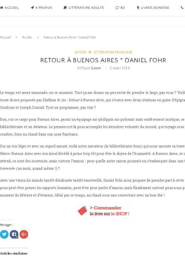 Retour à Buenos Aires * Daniel Fohr | Librairie -boutique La Soupe de l'Espace_Page_01.jpg