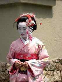 A Kyoto, une geisha, people. Pour Wordpress et Google. Daniel Fohr