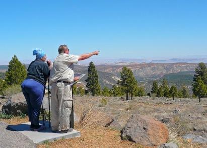 couple de touriste américains dans le colorado. Daniel Fohr