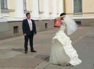Saint Petersbour, mariés people. Pour Wordpress et Google. Daniel Fohr.