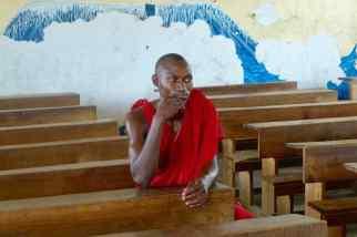 En Tanzanie, Massaï àl'école. Pour Wordpress et Google. Daniel Fohr.